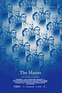 The fractured poster for The Master