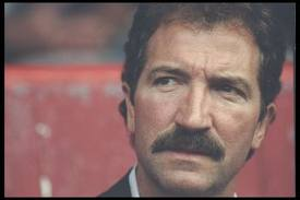 Graeme Souness, pondering another brilliant managerial decision