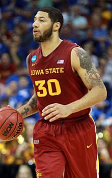 Royce White at Iowa State.