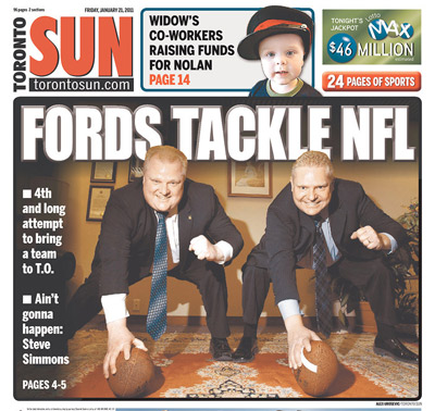The Fords are in on NFL football.