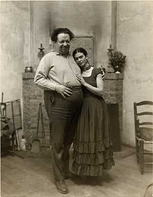 Frida and Diego.