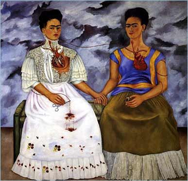 The Two Fridas. Frida Kahlo. 1939.
