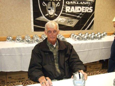 Ray Guy in 2008.