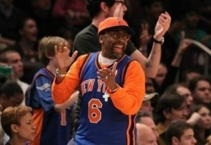 Spike Lee is happy.
