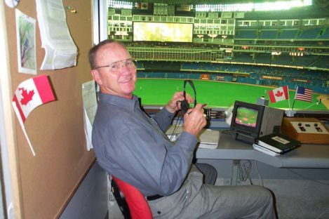 Tom Cheek at work.
