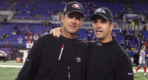Brothers in arms. Until the Superbowl.
