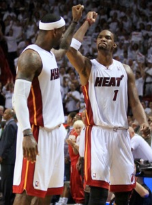 Bosh and James: Two players that have helped reshape the NBA landscape.