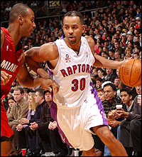 An excuse for a Dell Curry picture.