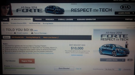 Buy a KIA Forte. That's more subtle than TWO ads.