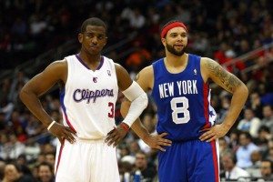 Chris Paul and Deron Williams ponder their awesomeness
