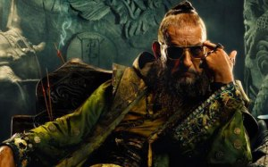 Ben Kingsley, just having some fun.