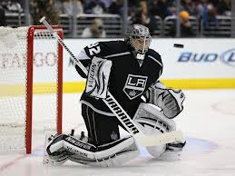 Jonathan Quick keeps his eyes on the prize.
