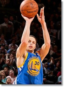 Somewhere right now Steph Curry is shooting a basketball.