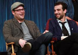 Rogen and Baruchel, buddying up