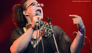 Brittany Howard, passionately belting one out
