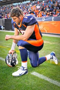 Tebow Tebowing.