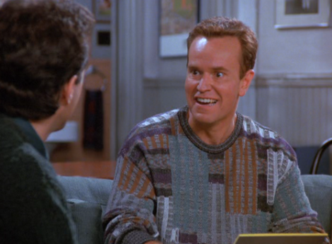 That sweater, that face, those eyes: Bania.