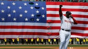David Ortiz loves America!