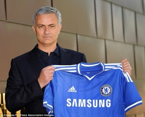 Mourinho returns to steer the good ship Chelsea.