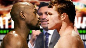 Mayweather vs. Canelo in the shadow of De La Hoya.