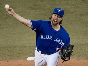 R.A Dickey would like a closed Dome.