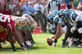 The best division rivalry in football this year.