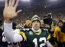 Aaron Rodgers has his massive hand on the steering wheel in Wisconsin.