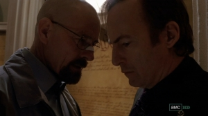 Walt and Saul in happier times.