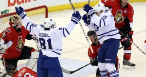 Kessel celebrates. Hopefully a common sight.