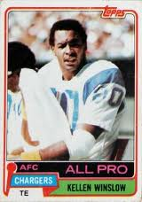 Kellen Winslow  would be comfortable in today's NFL.