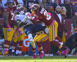 Brandon Meriweather (31) playing hard-nosed football.