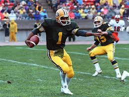 Warren Moon on the Eskimos in the late 1970s