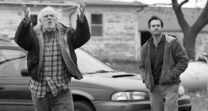 Bruce Dern shares a moment with Will Forte.