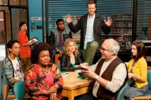 The original crazy cast of Community.