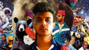 Jai Paul collage. Everything and everyone.