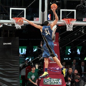 JaVale McGee enjoys All-Star Weekend. No joke.