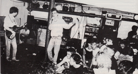 The Smiths in performance.