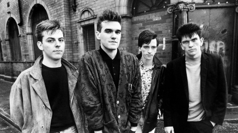The Smiths in black and white.