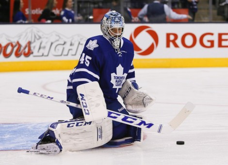 As they cling to 8th place, the Leafs could use Bernier.