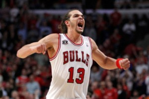 A legitimate threat: Joakim Noah.