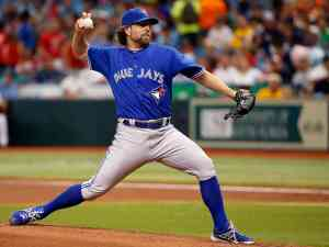 How about a big year from R.A. Dickey?