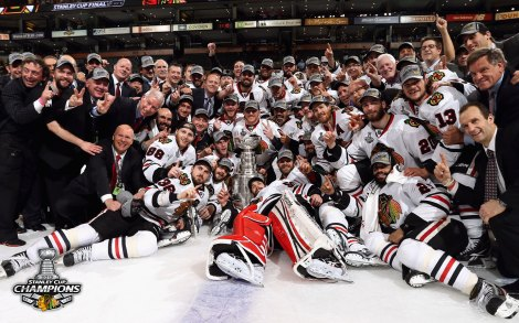 Last season's champion Blackhawks will be tough to beat again this spring