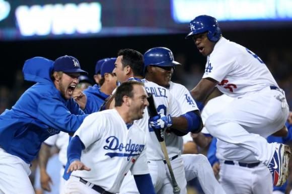 The Dodger players can't believe how much money has been spent on their team.