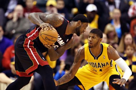 Miami and Indiana: the only Eastern conference teams that most people are talking about.