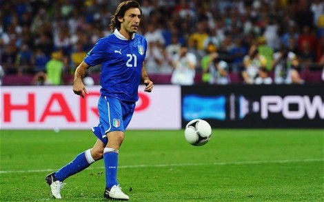 One last run for the maestro, Andrea Pirlo.