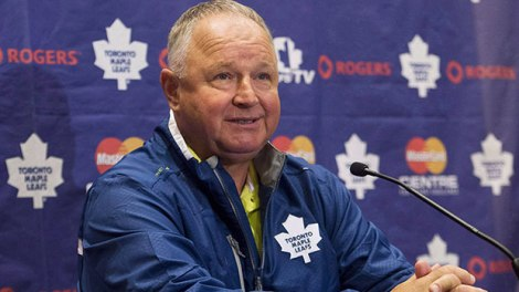 Carlyle is all smile after signing a 2-year deal.