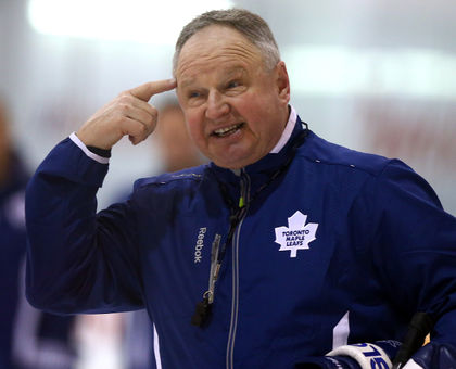 Carlyle implores Leaf fans to think about it.