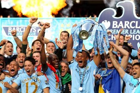 Man City: The Champions