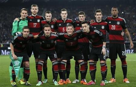germany men's soccer team players