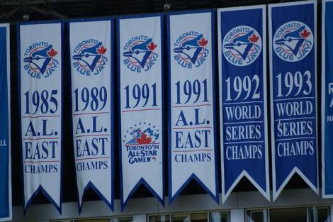 Sure would be nice to hang another banner out in centre field